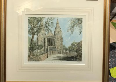 95 - St Machar Cathedral, Limited Edition Print